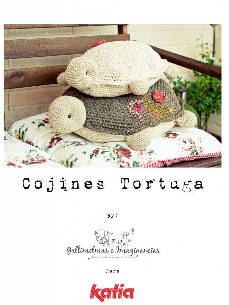 Craft lovers ♥ Cojines Tortugas por Gallimelmas e Imaginancias ...