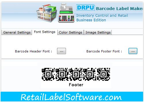 Excellent Retail Inventory Barcode Fonts Printing Software Is Unbeatable Way To Design Meaningful Fabulous Fa Printing Software Barcode Labels Print Stickers