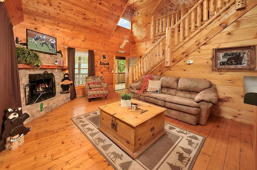 Bear A Dise II   1 Bedroom Gatlinburg Cabin Rental