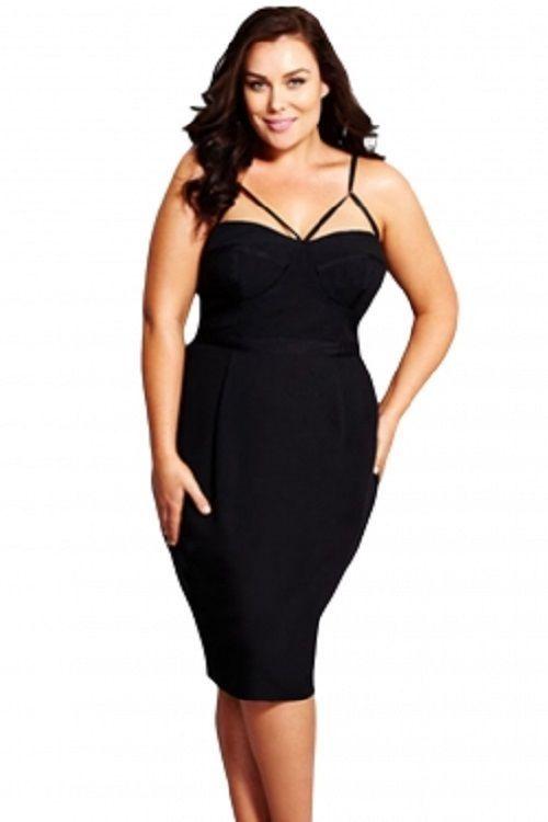 plus size undress me little black plus dress xl-3x #unbranded