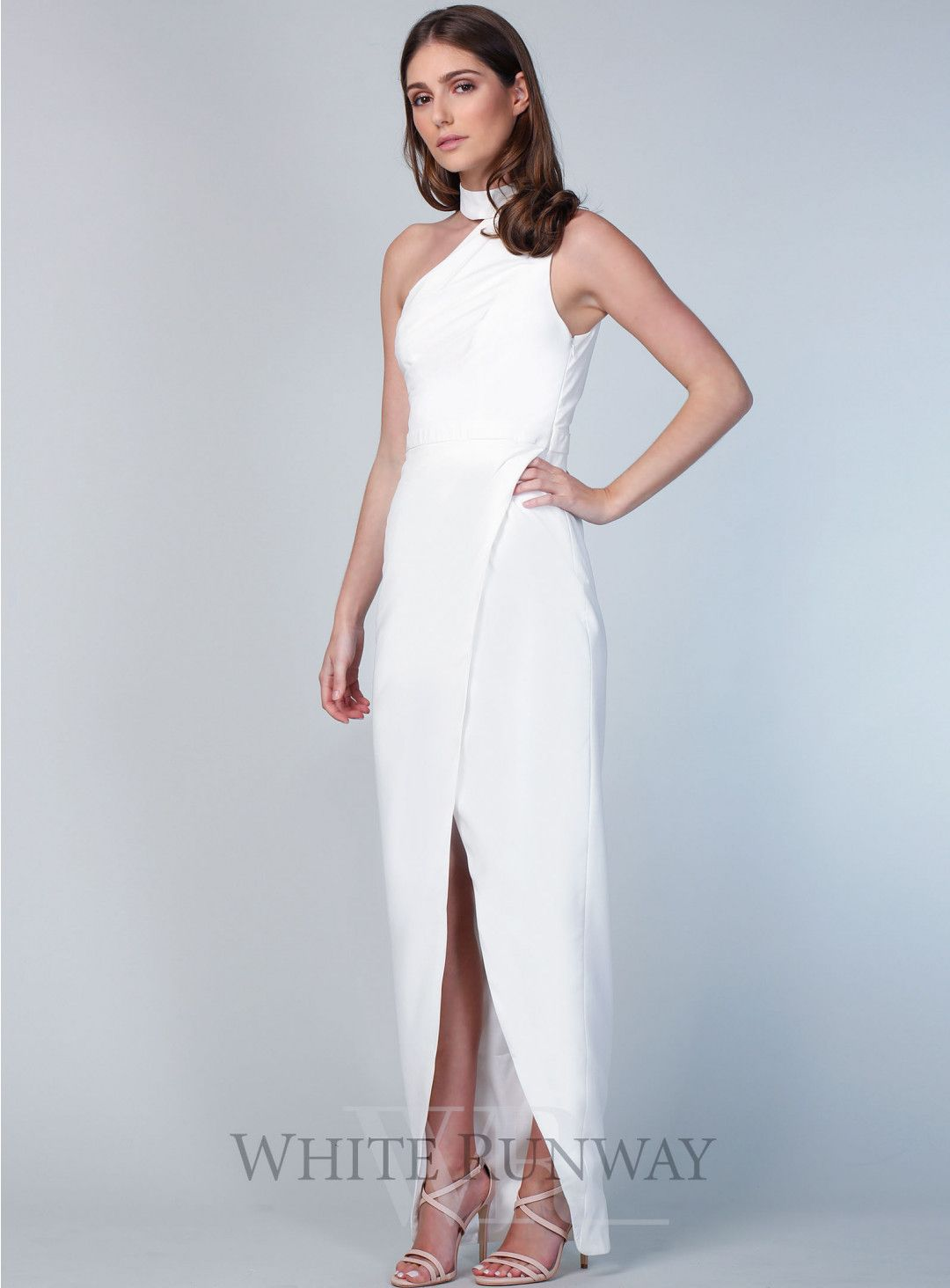 Thurley wedding dress  Lillian High Neck Dress