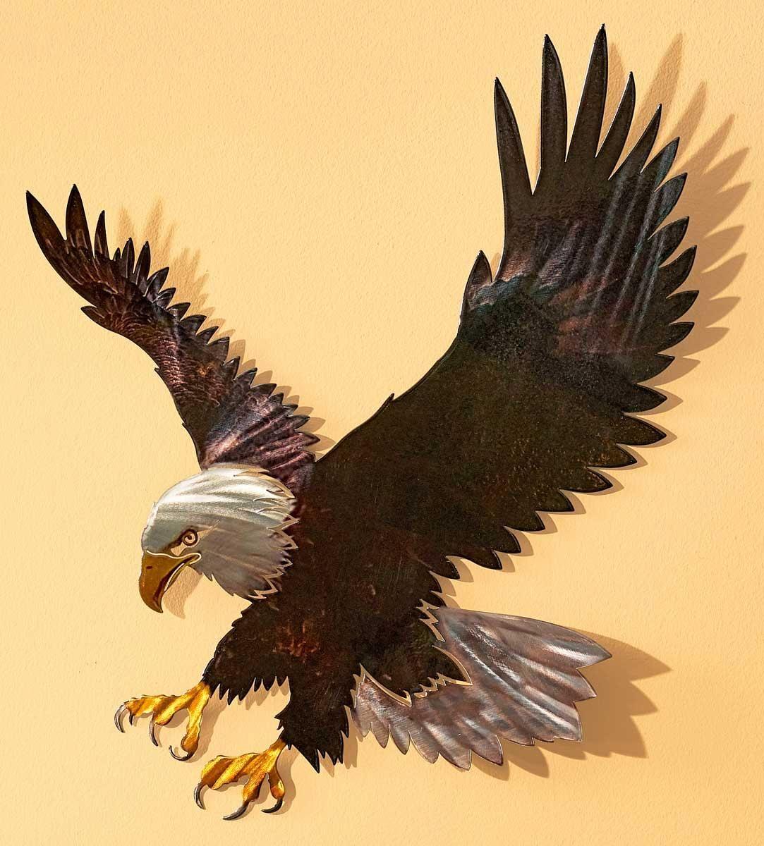 Majestic Bald Eagle Metal Wall Art Wild Wings Eagle Metal Wall Art Eagle Wall Art Bald Eagle