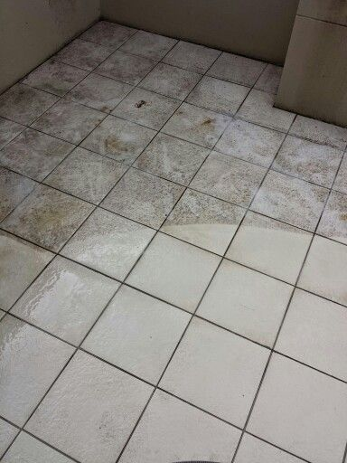 Outside Patio Tile Ideas: These Tiles On The Outside Patio Were Filthy! Outdoor