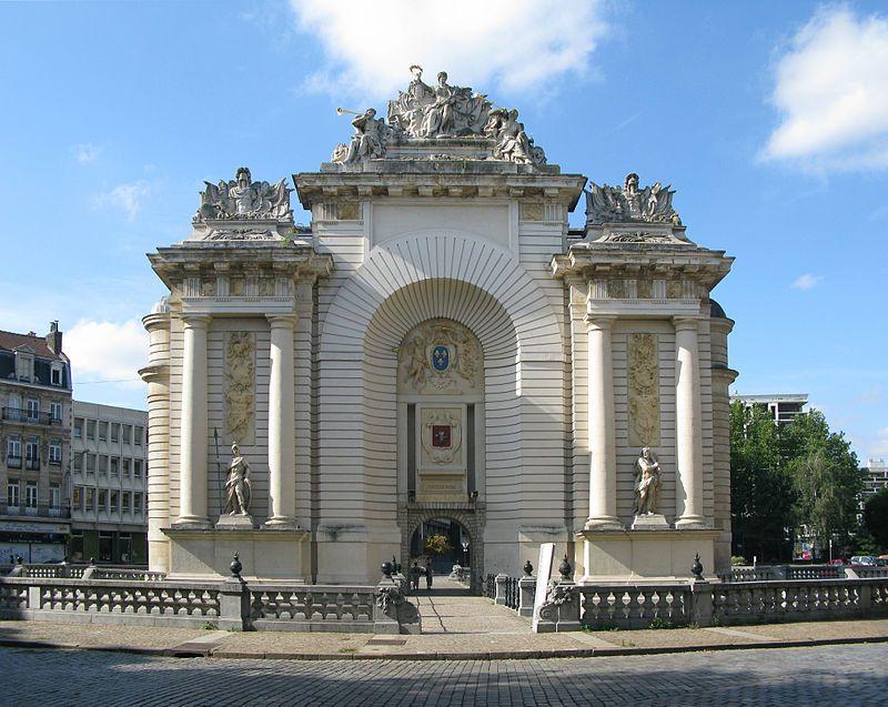 Liste Des Monuments Historiques De Lille Lille Porte Paris Lille Ville