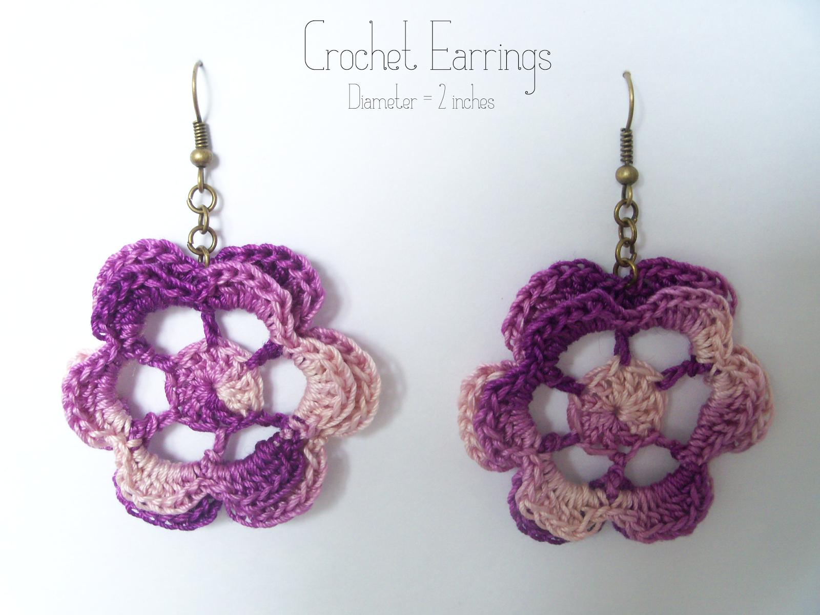 Crochet Earrings Pattern | Pinterest | Crochet earrings pattern ...