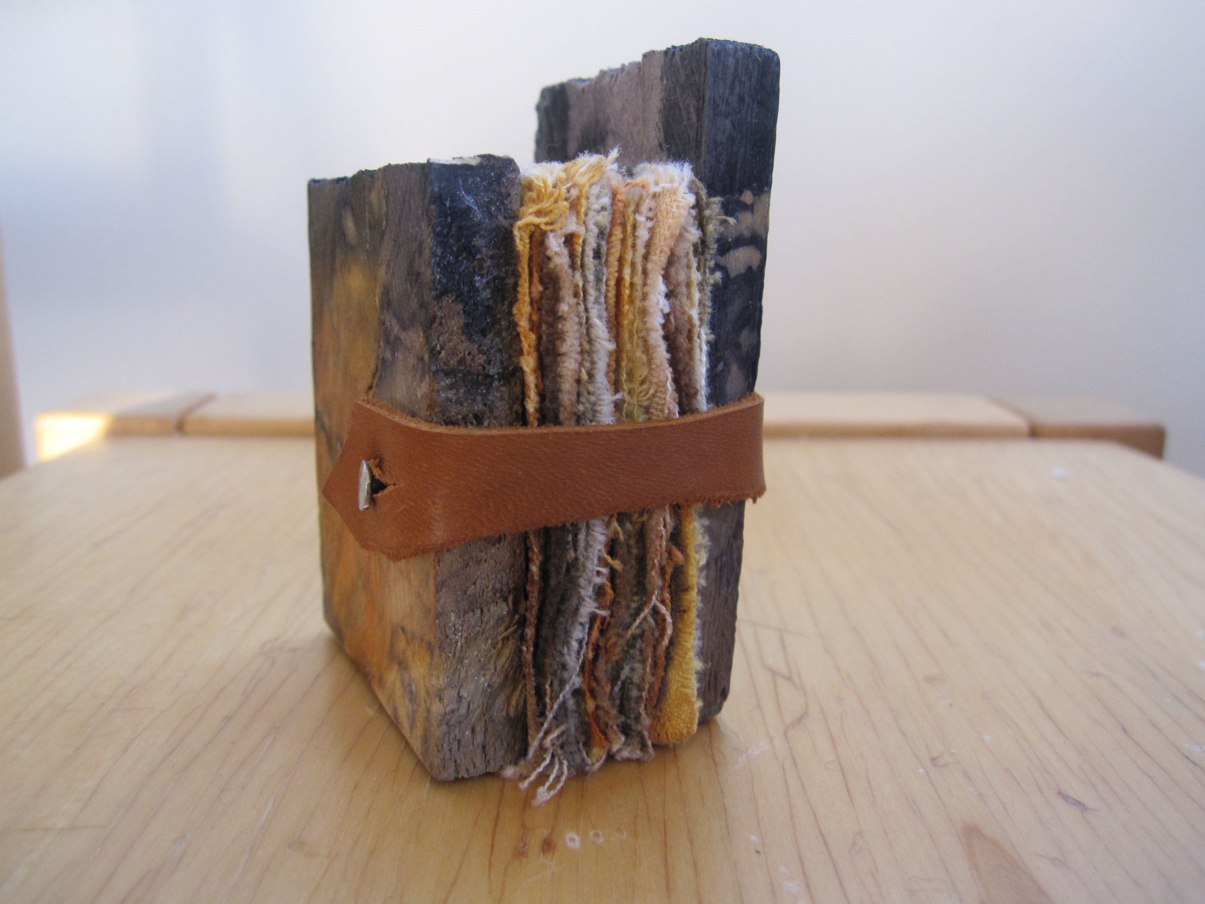 Little wooden ended book by Melissa