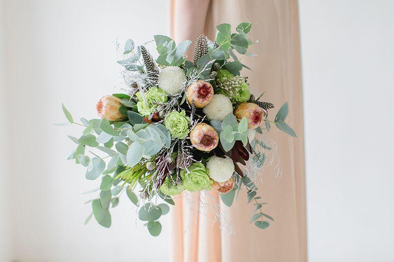 Blume Des Monats Januar Protea Blumen Brautstrauss Blumenstrauss