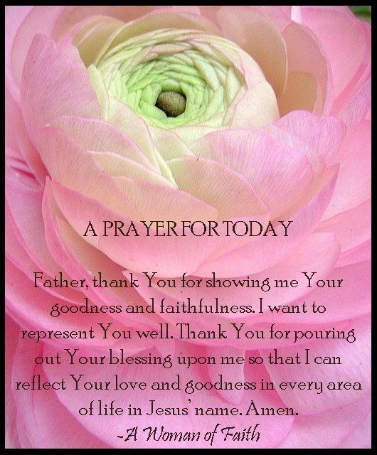 Thank You LORD for Your blessings