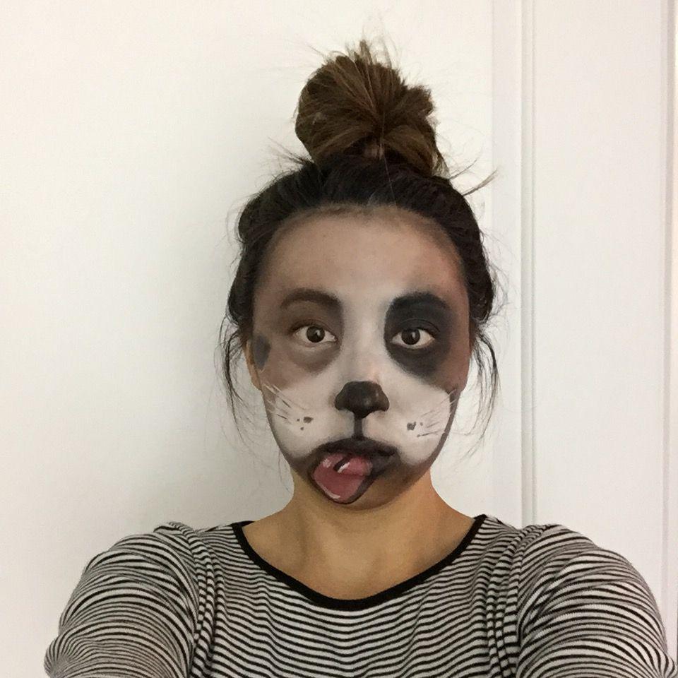 Dog Halloween Makeup.Pin On Halloween Looks