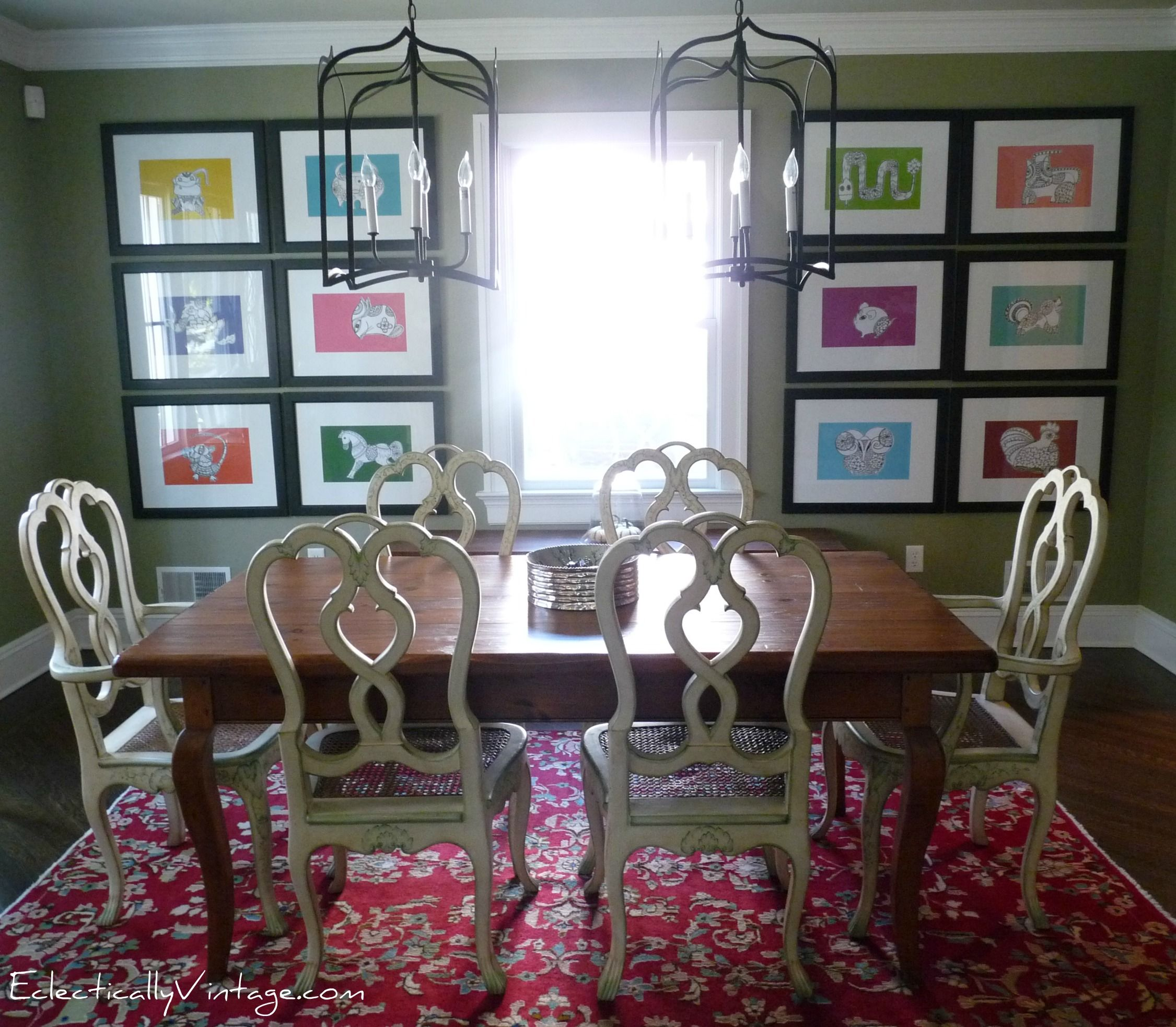 Dining Room Eclectically Vintage