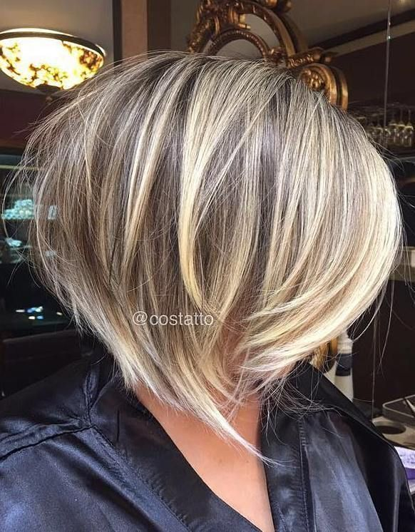 70 Cute And Easy To Style Short Layered Hairstyles Cool Razored Bronde Bob In 2020 Frisuren Haarschnitte Fransiger Haarschnitt Haarschnitt