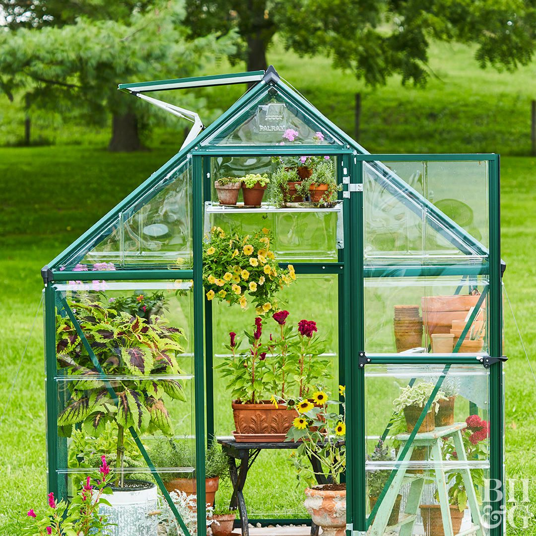 8 Small Greenhouses You Can Build All By Yourself Small