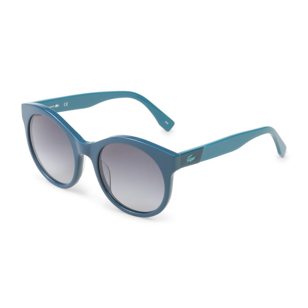 4ab3a404907 Lacoste Women s Sunglasses Sunnies Oval Blue Gradient Lenses UV2 Acetate   fashion  clothing  shoes
