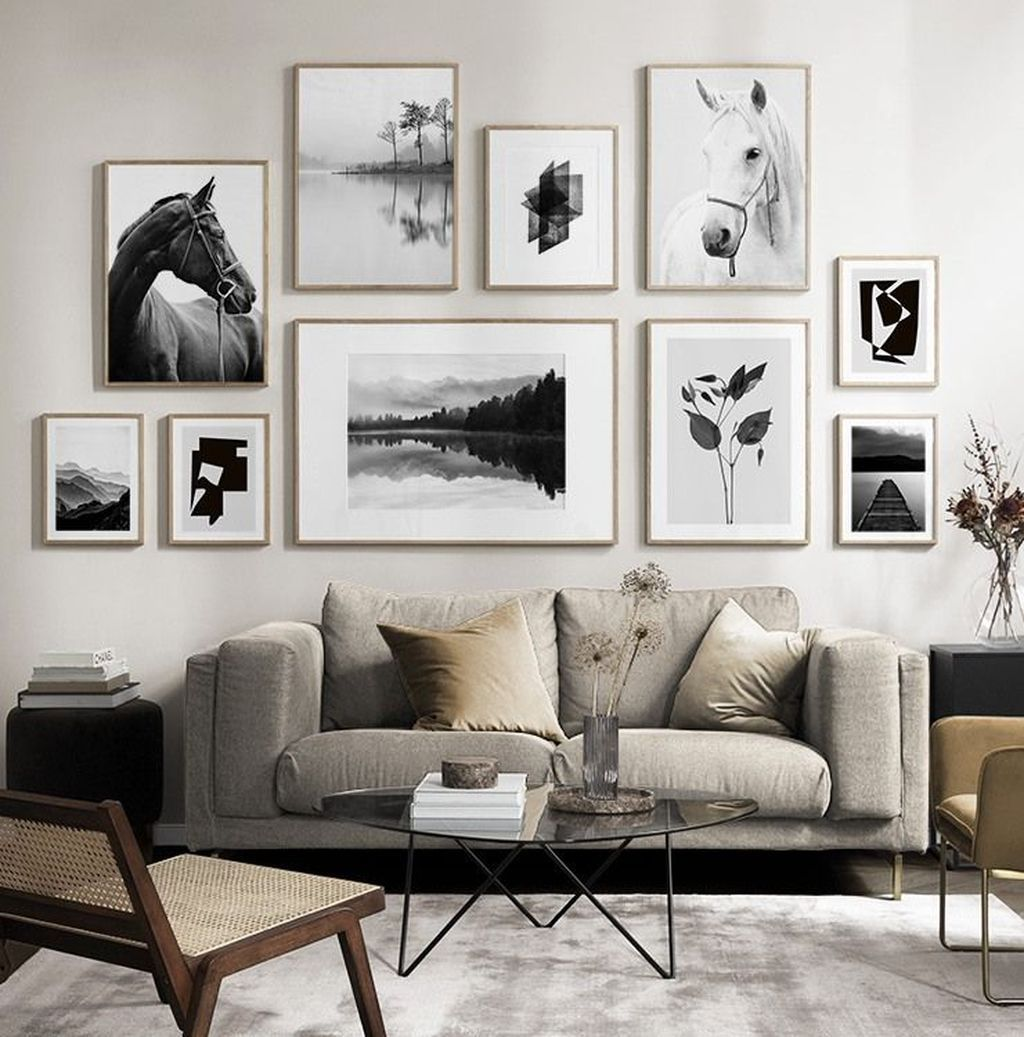 31 Admirable Gallery Wall Living Room Decor Ideas Picture Wall Living Room Gallery Wall Living Room Living Room Pictures