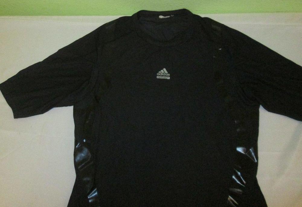 mezcla James Dyson tomar el pelo  Adidas Climacool Techfit Preparation Compression T Shirt Sz XL ...