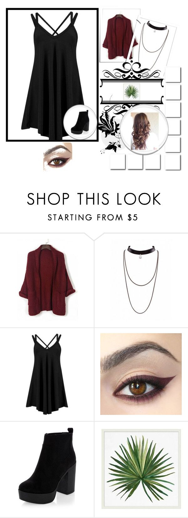 """""""Just me"""" by alexa-borcea on Polyvore featuring New Look and Pottery Barn"""