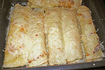 Gefüllte Pfannkuchen mit Hackfleisch von miouw | Chefkoch #meatfood