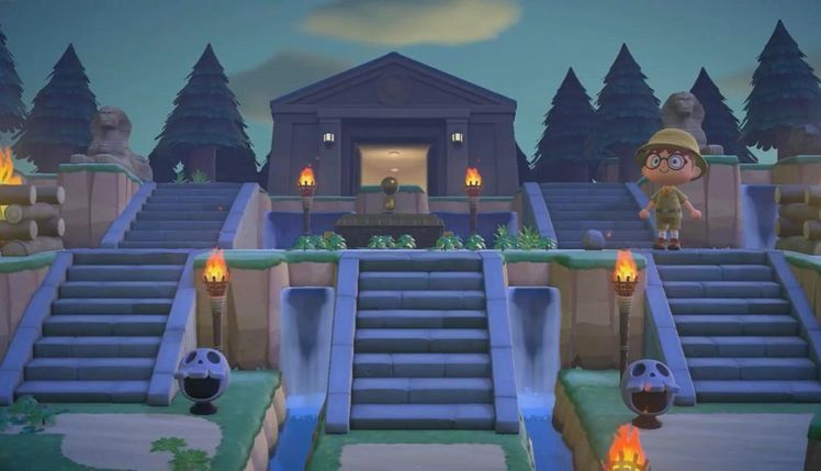 Animal Crossing New Horizons Map Design Ideas in 2020 ... on Animal Crossing New Horizons Bedroom Ideas  id=52559