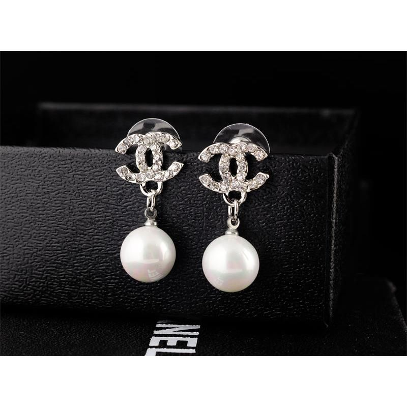 chanel earrings replica chanel earrings alloy fashion jewelry replica shop 1021