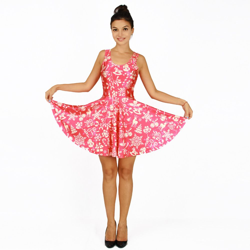Find More Dresses Information about Hotted Fashion Festive Dress Pleated Skirt 3D Personality Pleated Skirt Elk Personalized Printing Elastic Skirt,High Quality skirt hem,China dress code skirts Suppliers, Cheap dress xxxl from Riel Technology Co.,LTD on Aliexpress.com