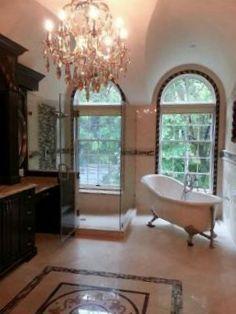 Main Focus Alot Of Space Senior Designer Added A Vintage Tub And - Bathroom showroom tampa