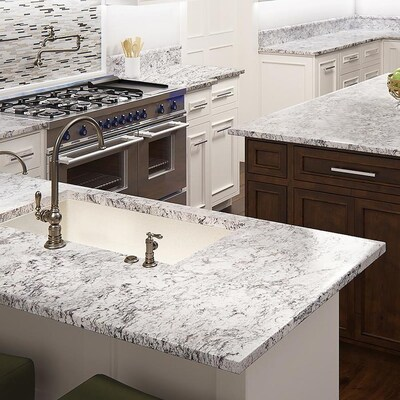 Allen Roth Summit Granite Kitchen Countertop Sample At Lowes Com