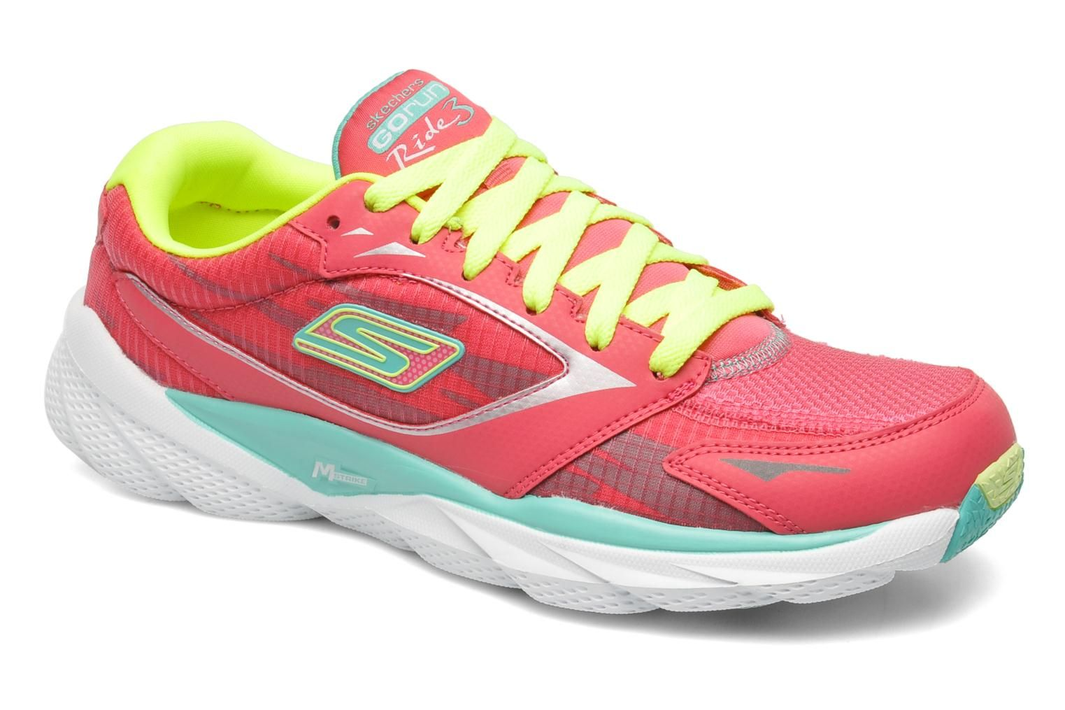 Skechers Go Run Ride 3 13910 Sport Shoes In Pink At Sarenza Co Uk