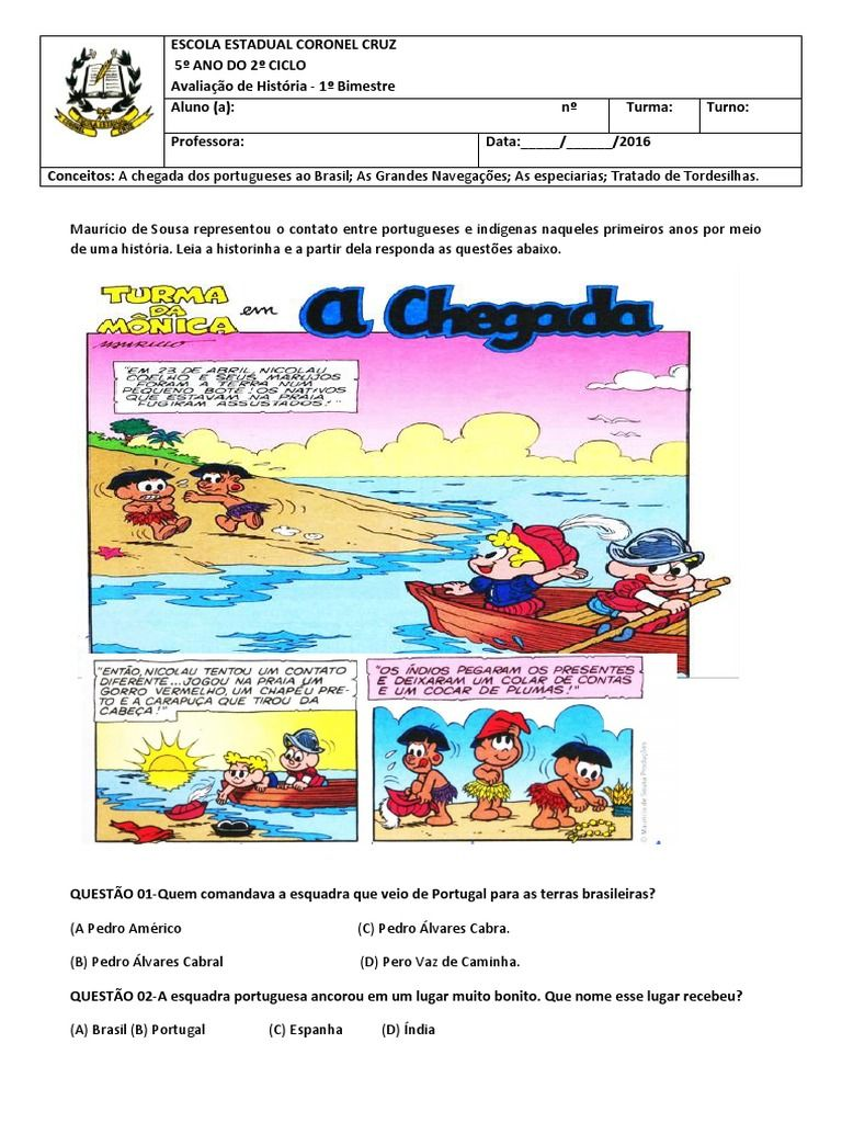 Sos Professor Atividades A Chegada Dos Portugueses Com Imagens