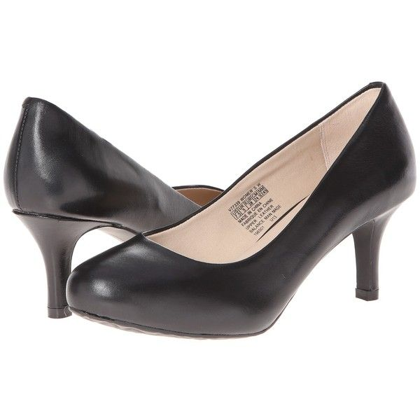 75e2165c49e0 Rockport Seven to 7 Low Pump (Black Smooth) High Heels featuring polyvore
