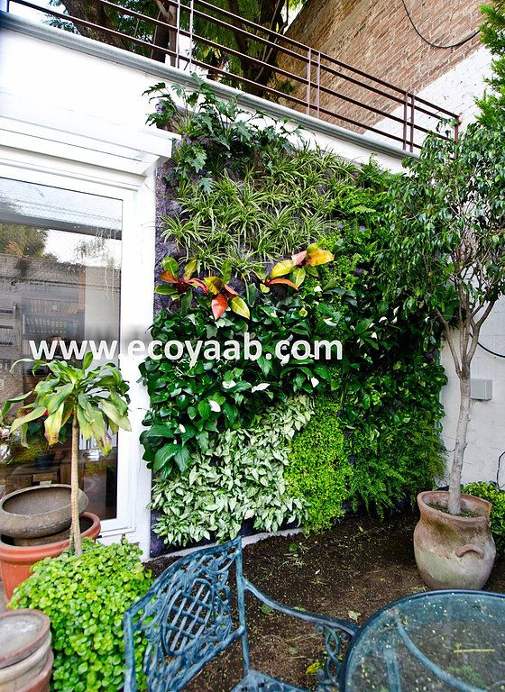 Jardin Vertical, Jardines Verticales, Muro Verde, Muros Verdes ...