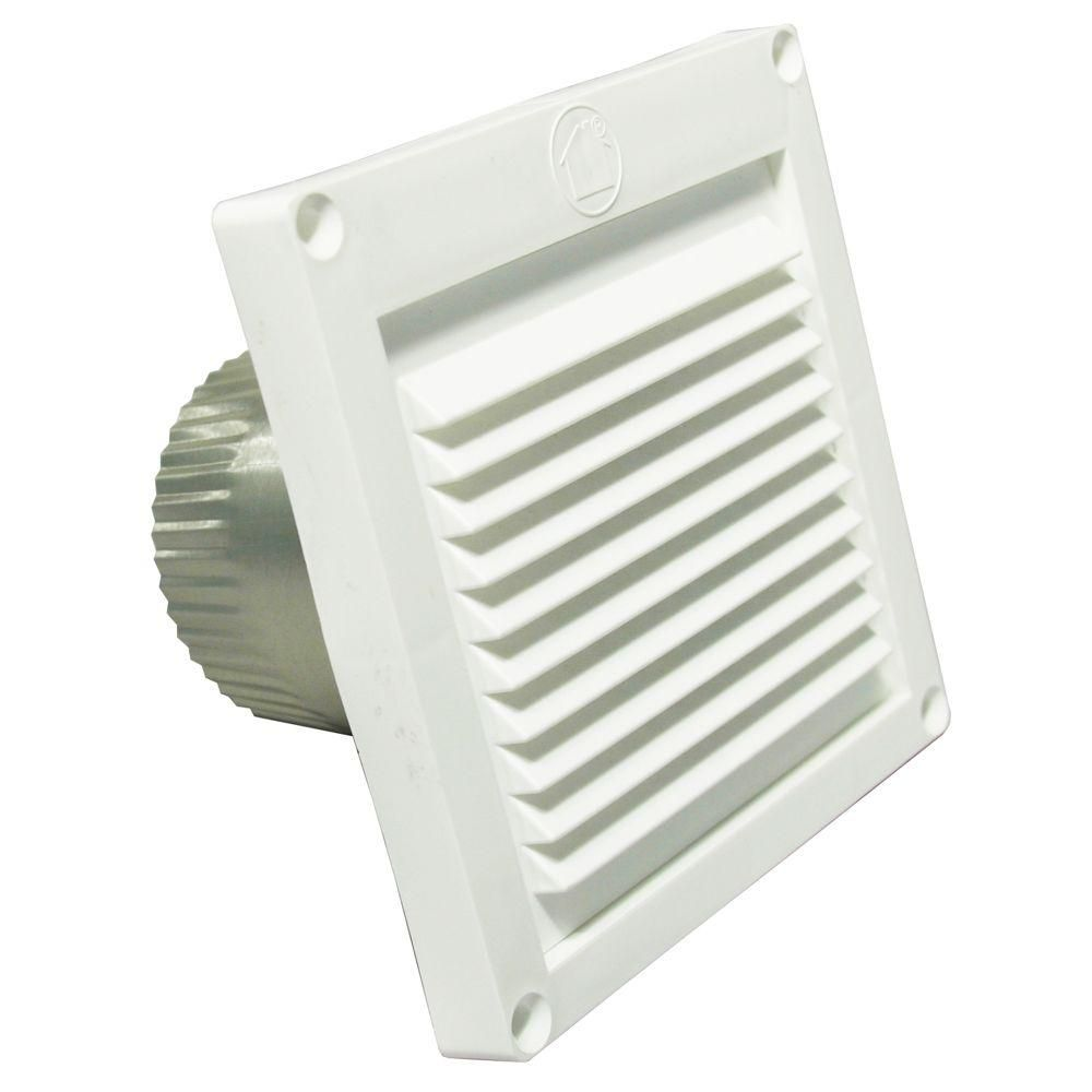 Speedi Products 3 In Micro Louver Eave Vent In White Property Eave Vent Air Vent Home Depot