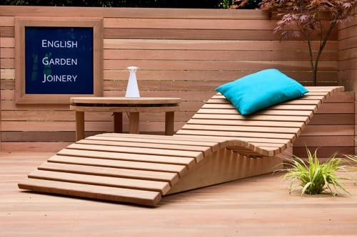 English Garden Joinery at the RHS Chelsea Flower Show 2012