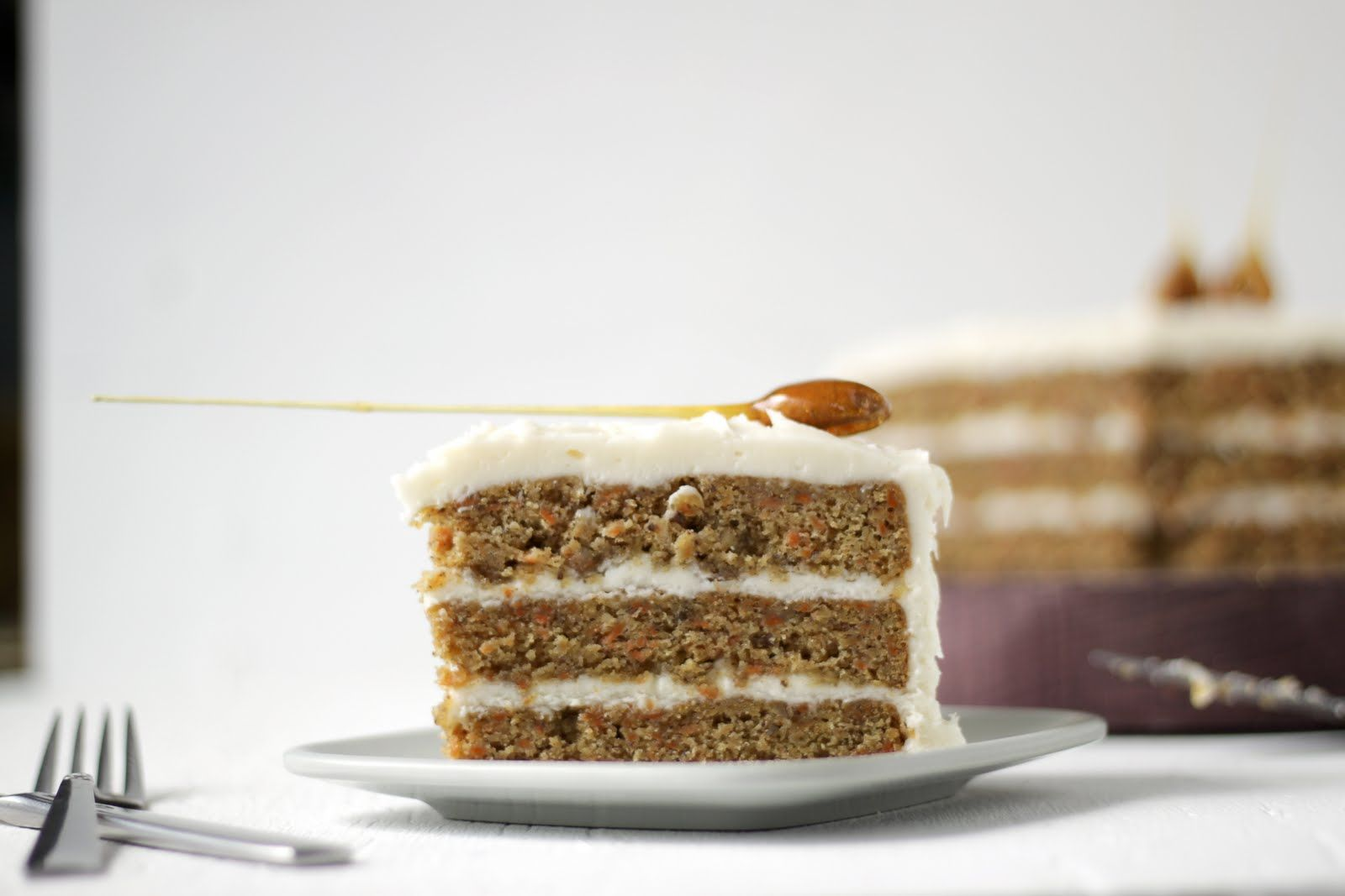 Always With Butter: Classic Carrot Cake with Cream Cheese Frosting
