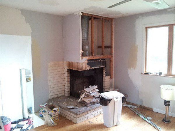 How To Remove A Chimney Or Fireplace Yourself Freestanding