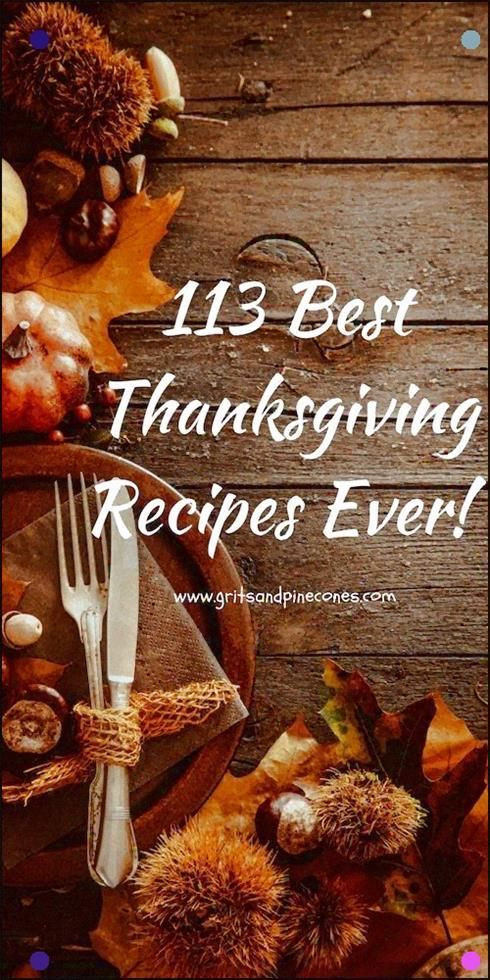 113 Best Thanksgiving Recipesis A One-Stop Resource For Every Recipe You Could E…