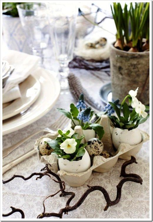 Easter table | Easter - Easter, Easter table en Easter ...