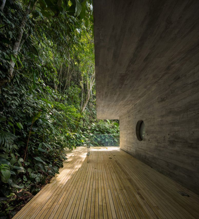 Een prachtig huis in de bossen van Sao Paulo: het Jungle huis. Helemaal gemaakt…