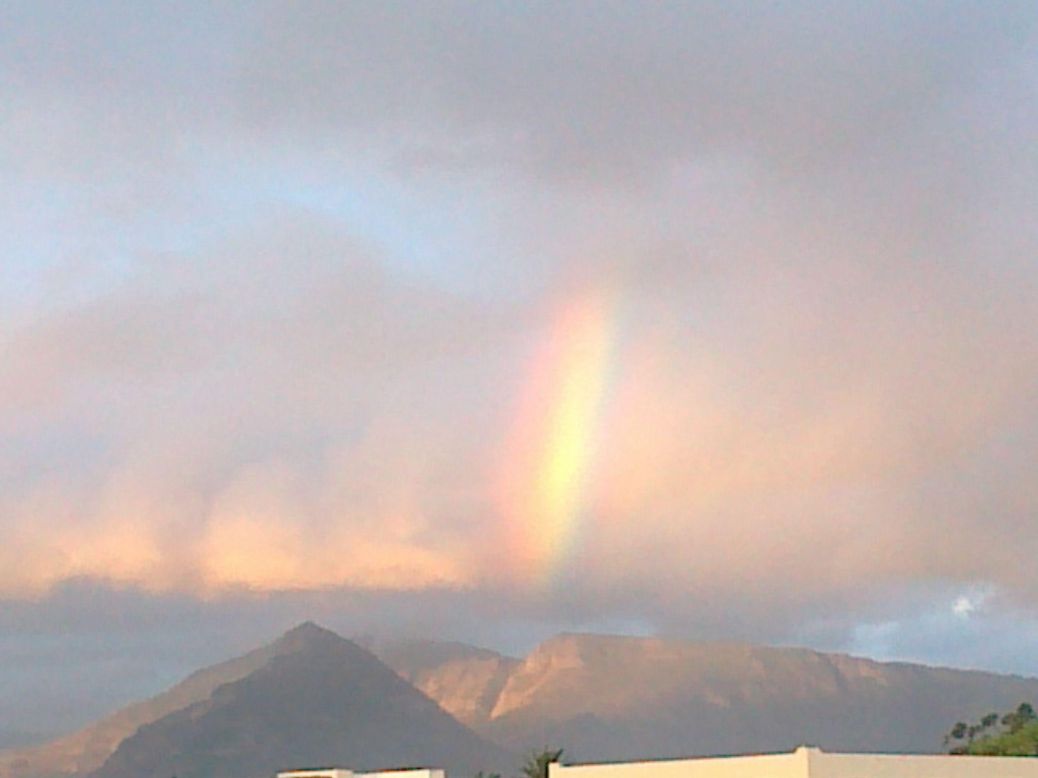 Rainbow over Kommetjie