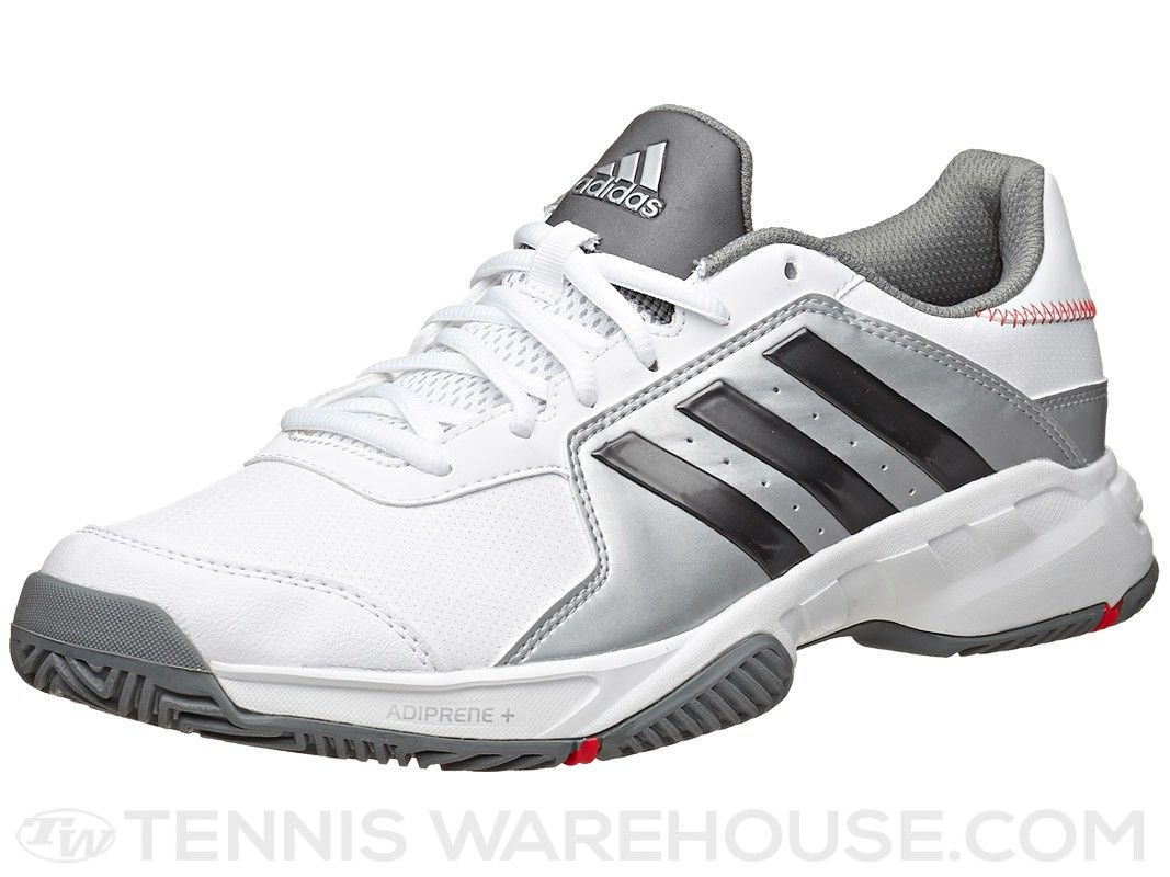 adidas Barricade Court Wide WhiteGrey Men's Shoe | Zapatos