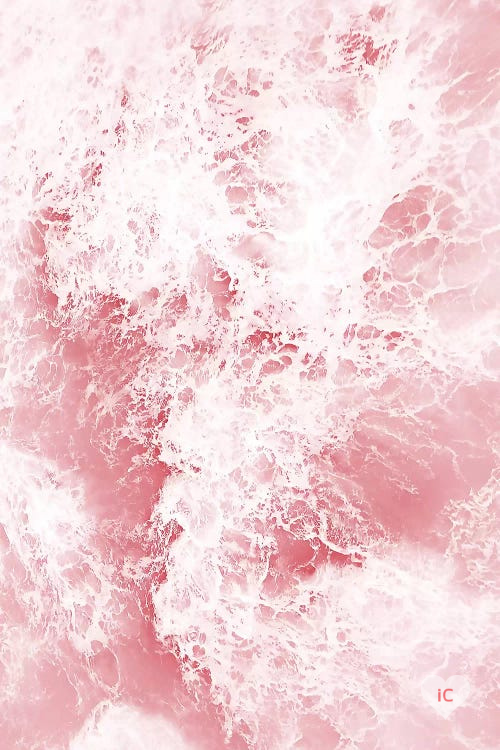 Pink Ocean Waves