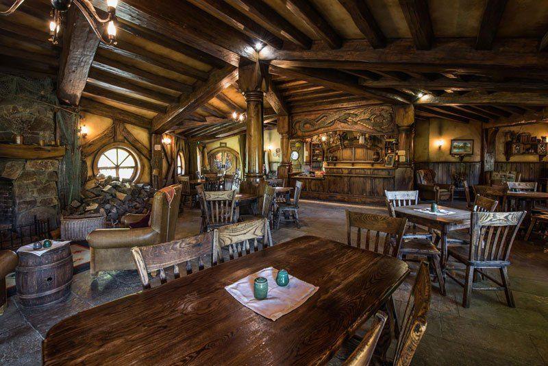 Hobbiton The Real Hobbit Village In Matamata New Zealand The