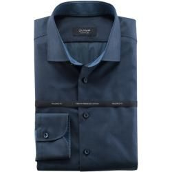 Photo of Olymp Signature Shirt, Tailored Fit, Signature Kent, Blue, 40 Olymp