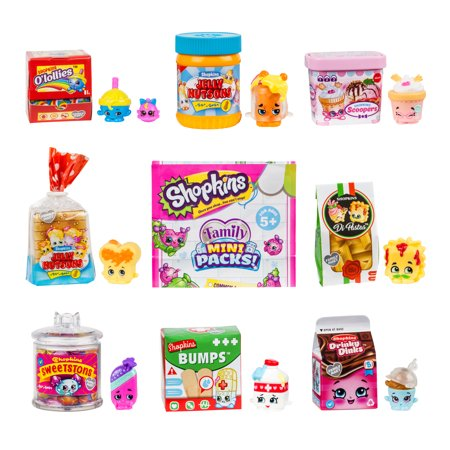 Shopkin Collector/'s Edition Oh So Real Mini National Branded Packs free ship />25