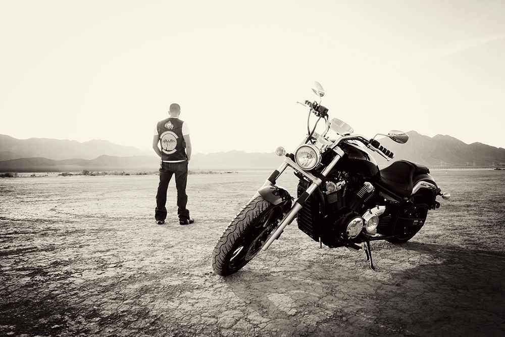 motorcycle photography ideas  Dry Lake Bed- Adrian and his motorcycle - Blog - | Portrait ...