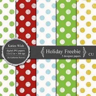 adorable polka dot paper download--free CU use ok