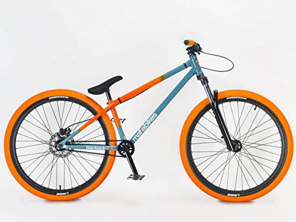 Blackjack Mafiabikes D 26 Bmx Jump Bike Wheelie Bike Grey Orange