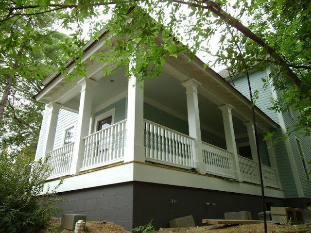 Revival On Vance Body Wedgewood Gray Trim White Dove Foundation Kendall Charcoal Exterior House Colorterior Paintporch