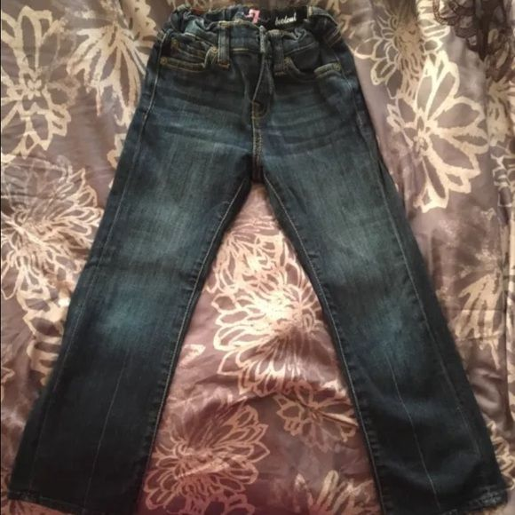 Girls Seven for all mankind jeans Like New! Only worn a few times... Jeans are boot cut Seven for all mankind Jeans Boot Cut