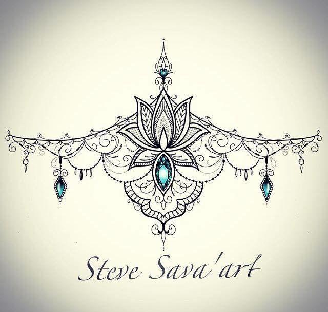 LoveIch liebe dieses Brustum-Tattoo-Design, wie schön! ♡ – Künstler