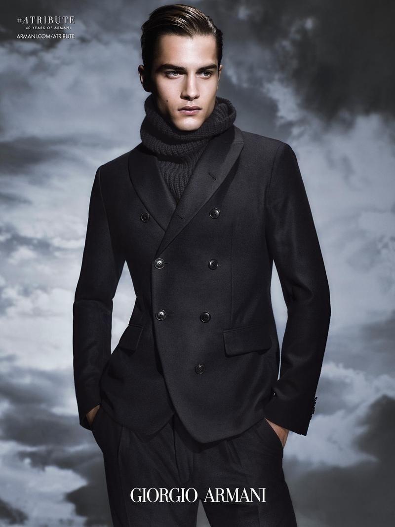 Giorgio Armani - Giorgio Armani F/W 15  Giorgio Armani - Designer Sølve Sundsbø - Photographer Beat Bolliger - Fashion Editor/Stylist Aleksandar Rusic - Model